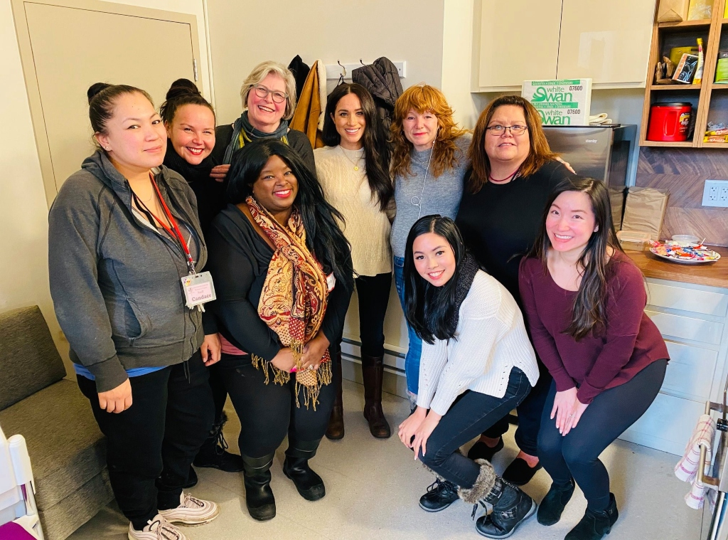 Meghan Markle, Downtown Eastside Women's Centre